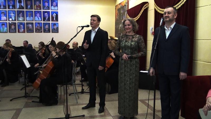 В Оренбургском театре музыкальной комедии перед концертом