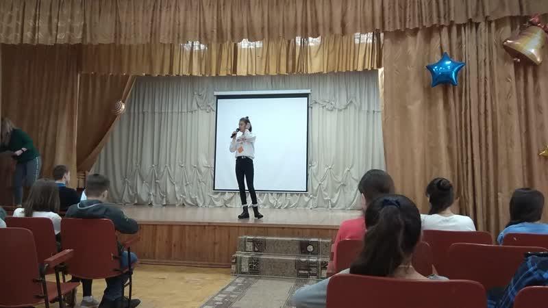 Речь президента Школьной ассоциации АктивисТы