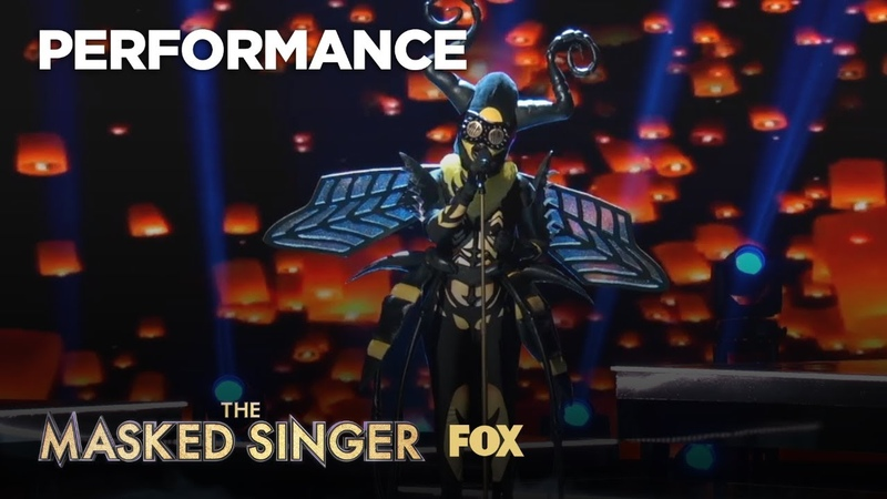 The Bee Performs (You Make Me Feel Like) A Natural Woman | Season 1 Ep. 8 | THE MASKED SINGER