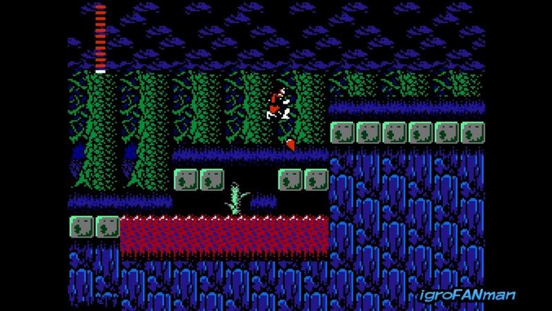 Castlevania 2 Simons Quest(Gameplay DENDY NES)