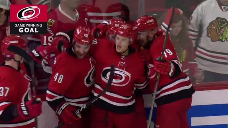 Ahos patient winner in overtime NHL.com