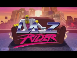 LA-Z Rider Couch Gag From Guest Animator Steve Cutts _ Season 27 _ THE SIMPSONS