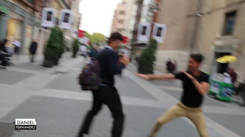 Hugging Strangers in Spain Daniel Fernandez