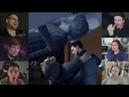 Реакции Летсплейщиков на Бухого Хэнка из Detroit Become Human