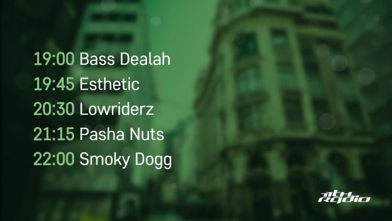 Bass Dealah, Esthetic, Lowriderz, Pasha Nuts and Smoky Dogg - Live @ Time of Night (30.05.2018)