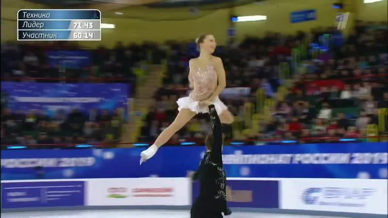 RN2018 Aleksandra BOIKOVA / Dmitrii KOZLOVSKII FS