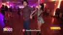 Nikos Mountrichas and Tina Bantzi Cha-cha-cha Dancing at El Sol Warsaw Salsa Festival, Fri 09.11.18