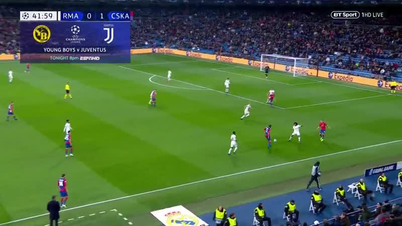 Лига Чемпионов Реал Мадрид - ЦСКА 0:3 обзор 12.12.2018 HD