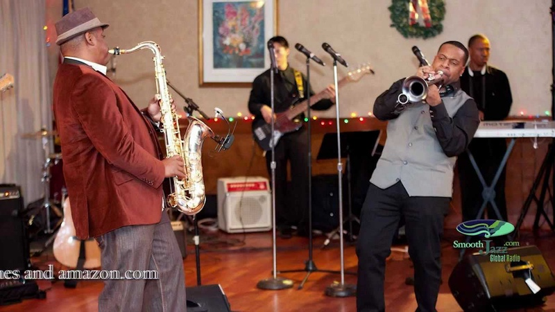 Smooth Jazz Sax and Trumpet Duet Resaxation Deon Yates Lin Rountree