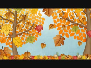 Autumn (Fall) Song for Children _ Simple Song to Learn English _ ESL