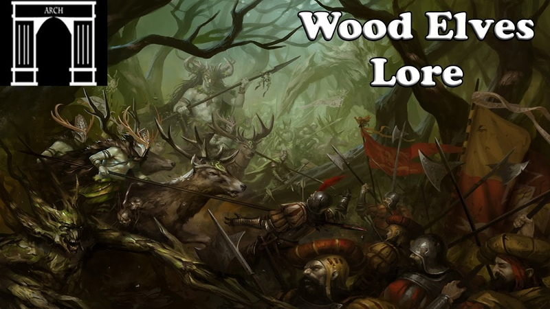 Possible Total War:Warhammer Factions The Wood Elves