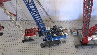 Lego Liebherr 1750 LR Crawler Crane Lifting 42042