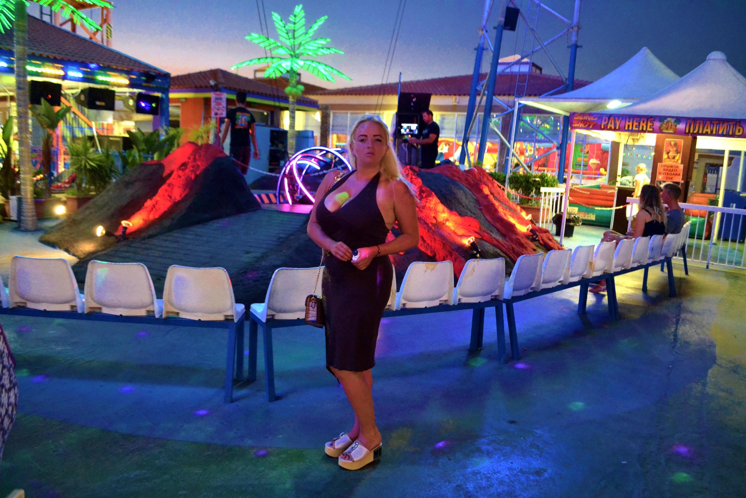 Елена Руденко (Валтея). Лунапарк Parko Paliatso в Айия-Напе (Кипр) фото. ZEN78YPmbEs