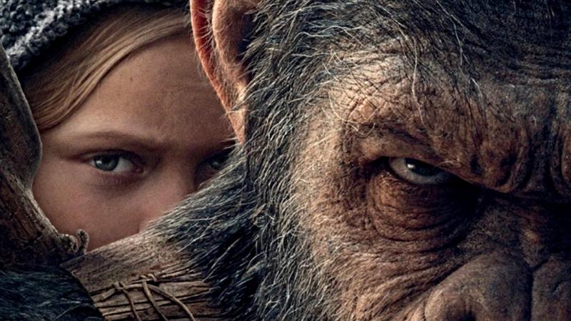 Михаил Лазутин рисует Цезаря из фильма «Планета обезьян: Война»