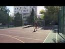 На улице Маршала Бирюзова построили новую спортивную площадку