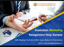 Provides the Australian Marketing Assignment Help Sample
