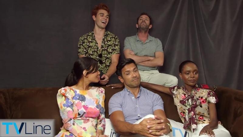 2018 › интервью для «TVLine» в рамках конвенции «Comic Con» › 21 июля