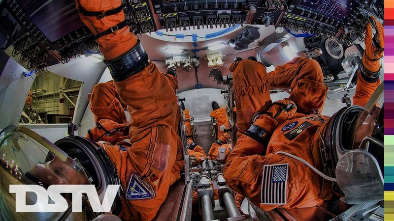 A Look Inside The Orion Spacecraft