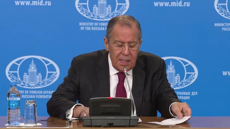 Пресс конференция С Лаврова по итогам 2018 года