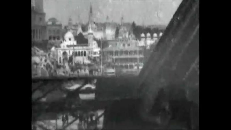 🎥 Вид с лифта, поднимающегося наверх Эйфелевой башни / Scene from the Elevator Ascending Eiffel Tower (1900)