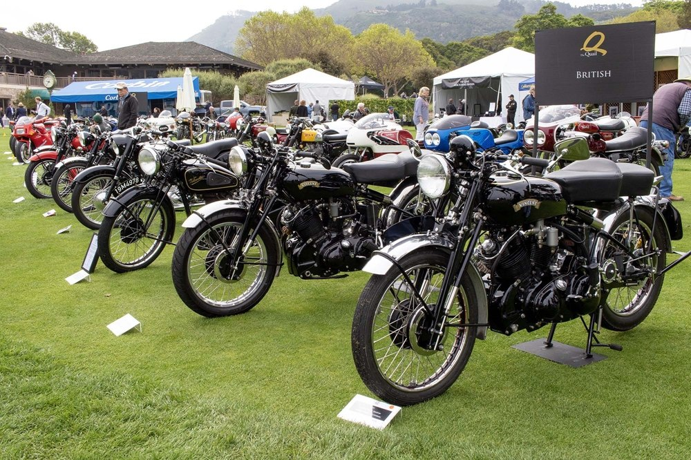 Мотошоу Quail Motorcycle Gathering 2018 (фото)