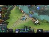 Espada vs Team Spirit, The International CIS QL, game 1 Alohadance, Maelstorm