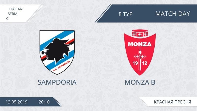 AFL19. Italy. Serie C. Day 8. Sampdoria - Monza B