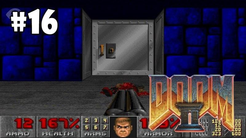 Doom II Hell on Earth прохождение игры - Уровень 31 Secret Level Wolfenstein All Secrets Found