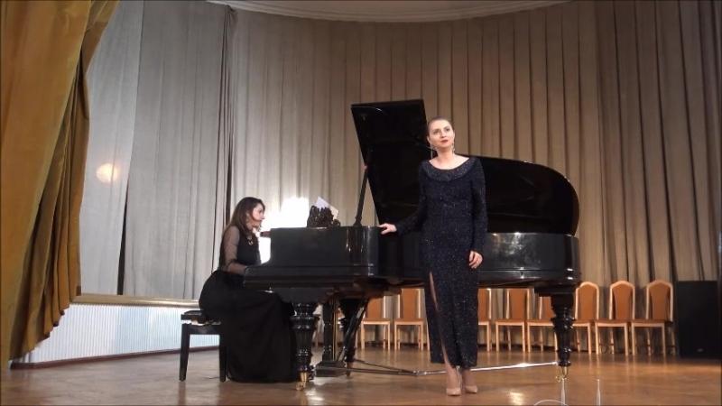 Пуччини, Ария Магды, из оперы Ласточка, исп.Юлия Старцева, концертмейстер-Татьяна Жирихина.
