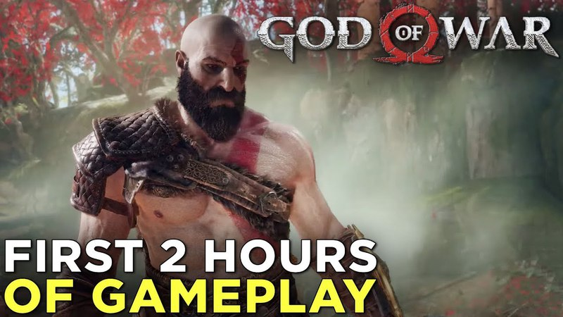 God of War GAMEPLAY! The First 2 Hours (No Commentary, Immersive Mode)
