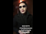 Marilyn Manson, Adrien Brody and Billy Idol at Coachella 2018
