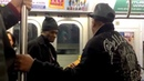 Michael Young Mike Yung Dennis performing Oh Girl by the Chi Lites J train NYC