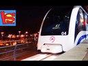 МОНОРЕЛЬС МОСКВА ВДНХ поезда будущего БАШНЯ ОСТАНКИНО ночью катаемся на поезде