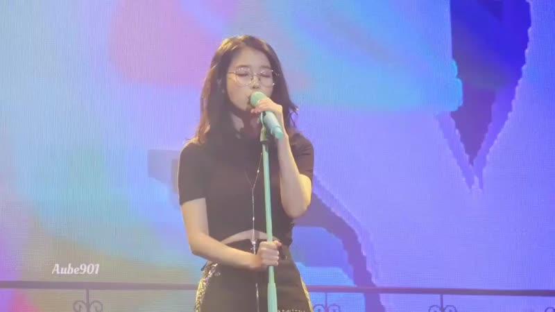 [Fancam] 181110 @ IU - Glasses at concert in Gwangju IUDlwlrmaTour