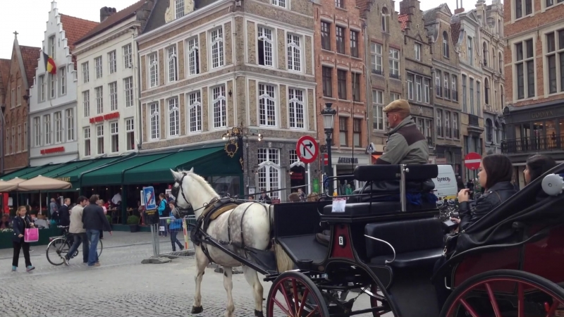 Бельгия Брюгге считается самым живописным городом