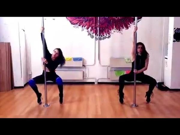 Урок Exotic Pole Dance у Валерии Тимошенко ( Studio _SoVa_ PD )
