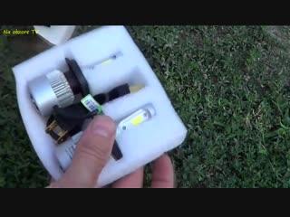 Пара светодиодных ламп YHKOMS H7 H1 H3 H8 H9 H11 H13