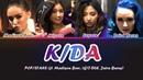 K/DA-POP/STARS LYRICS ft Madison Beer, GI-DLE, Jaira Burns Color Coded Han/Rom/Eng