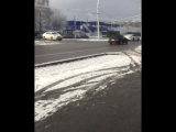 Влетел в заправку_ в Сети появилось видео ДТП в Алматы с участием Porsche Paname