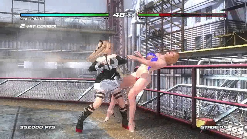 Dead or Alive 5 Last Round Xbox 360 Arcade as Marie Rose