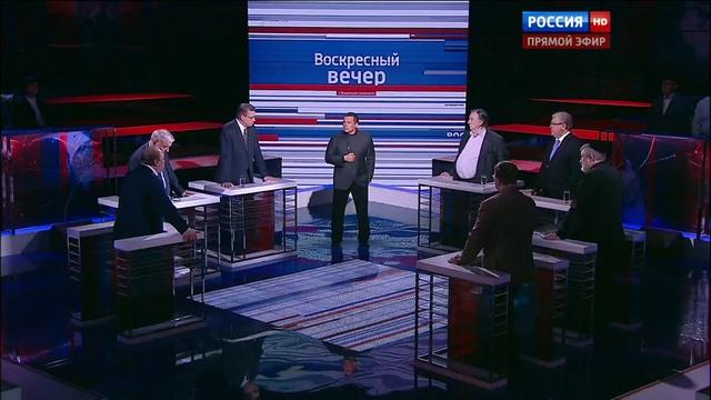 Вечер с Владимиром Соловьевым. Эфир от 17.01.2016