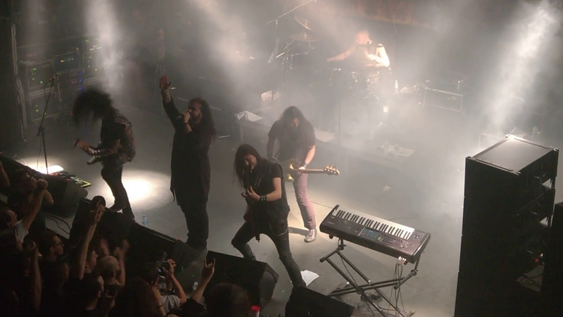 Firewind Live 1of7 2 to 1 Gagarin ATHENS 16 12 17
