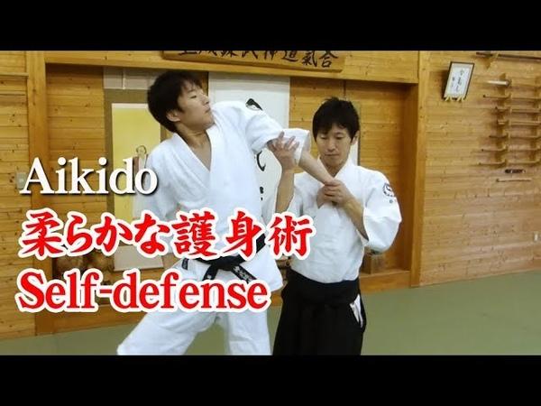 合気道 - 柔らかな護身術 Aikido self-defense techniques