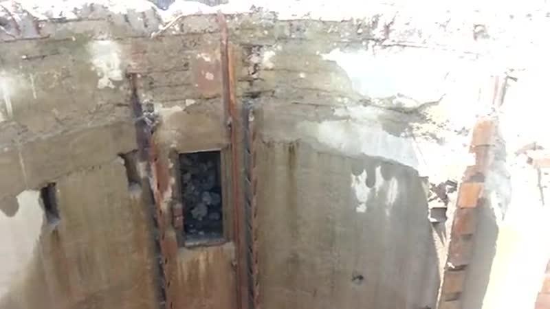 Роздовбані ракетні шахти в Старих Кривотулах 09.08.2014