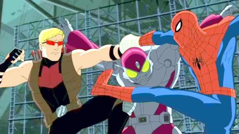 Великий Человек Паук Все серии подряд Сборник мультфильмов Marvel о супергероях Сезон 2 Серии 5 8