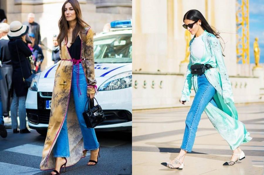 Как и с чем носить кимоно 2019: 4 стильных образа