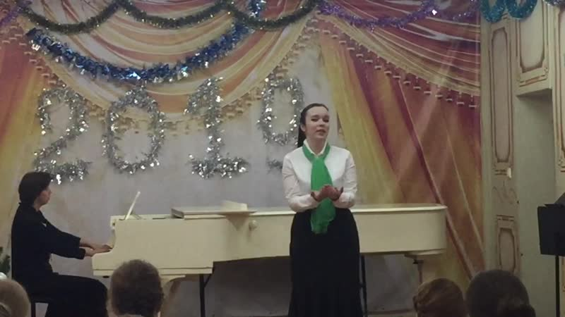 Ксения Никулина — ариозо Наташи из оперы «Русалка» А.С.Даргомыжского