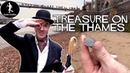 Mudlarking For Treasure Along The River Thames in London