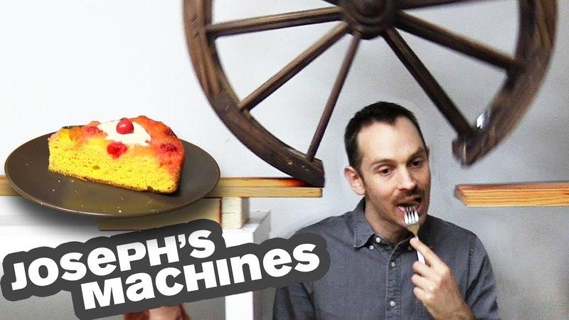The Cake Server   Josephs Most Complex Machine Ever!