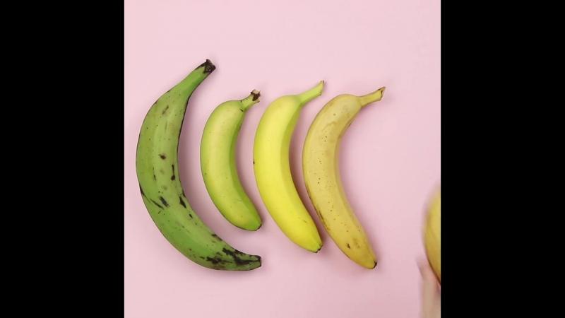 Как выбрать самый полезный банан?